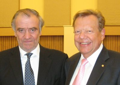 with Valery Abisalovich Gergiev (Principal Conductor of the Munich Philharmonic) | © INTERKULTUR
