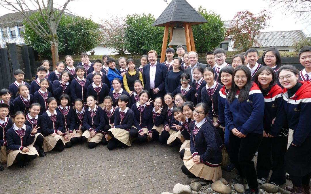 Liwan Children's Choir sings for INTERKULTUR