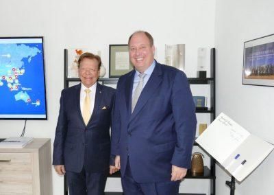 Prof. Dr. Helge Braun visits INTERKULTUR 2018