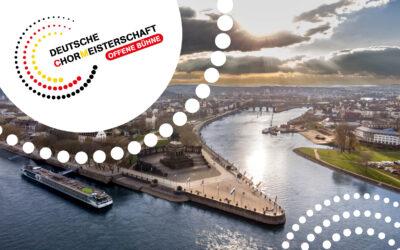 Deutsche Chormeisterschaft invites to Koblenz with open competition still this year