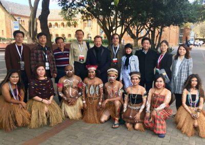 Begegnung mit unseren chinesischen Freunden vom Chinesischen Chorverband bei den 10. World Choir Games