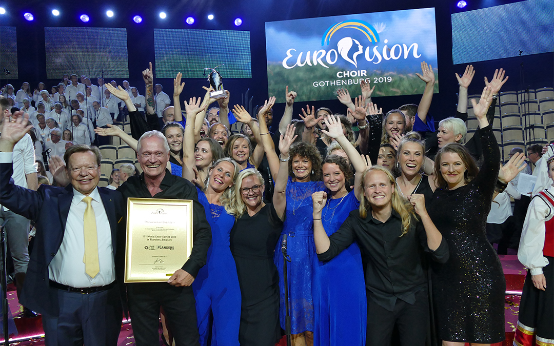 Eurovision Choir winner 2019 Denmark